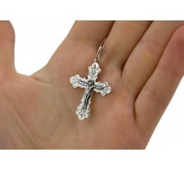 Крестик серебряный (3548ч)