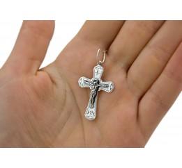 Крестик серебряный (3081ч)