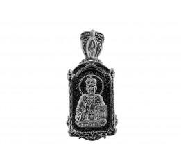 Ладанка серебряная Святой Николай  (3338м)