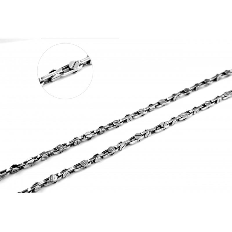 Цепочка серебряная (1814ч)
