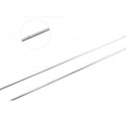 Цепочка серебряная Снейк (190D)
