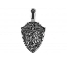 Ладанка серебряная Архангел Михаил (РП117)