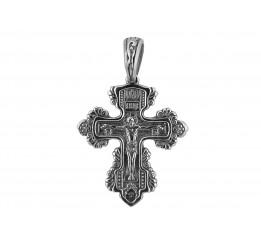 Крестик серебряный (РП48)