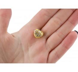 Бусина пандора серебряная Сердечко (Р724)