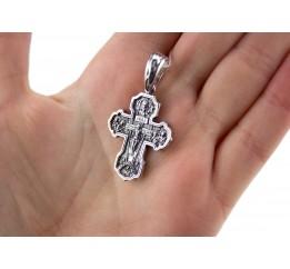 Крестик серебряный (РП40)