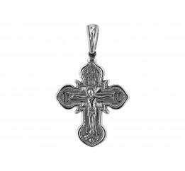 Крестик серебряный (РП23)