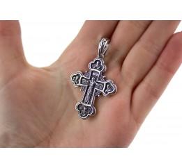Крестик серебряный (РП41)