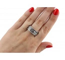 Кольцо серебряное (860)