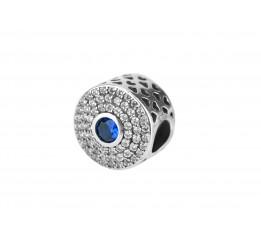 Бусина пандора серебряная (Р024)