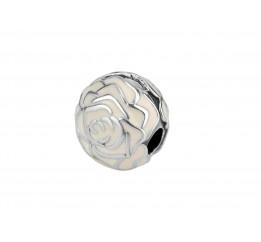 Бусина пандора серебряная Розочка (С185)