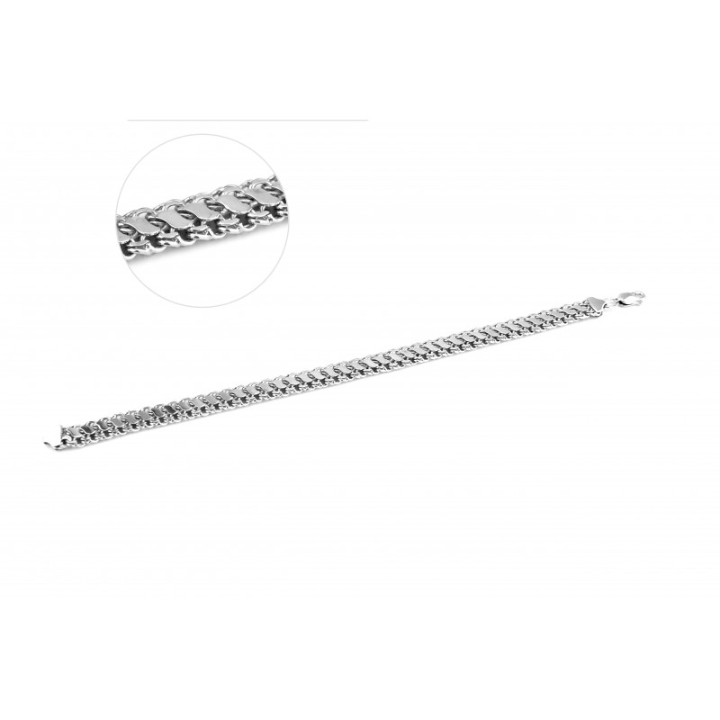Браслет серебряный Двойной (52200род)