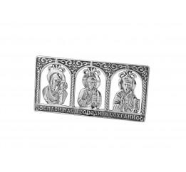 Икона серебряная Молитва водителя (71203)
