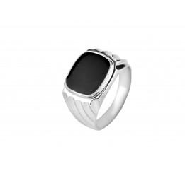 Печатка серебряная (12026б)