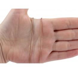 Цепочка позолоченная Снейк (ТП120)