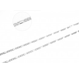 Цепочка серебряная Фигаро (ФР69)