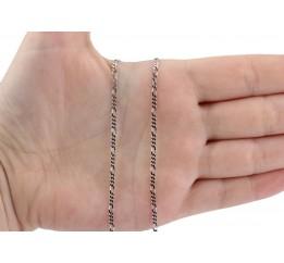 Цепочка серебряная Фигаро (ФР50)
