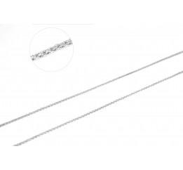 Цепочка серебряная Двойной якорь (БР30)