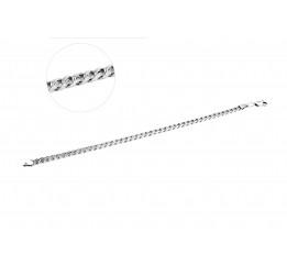 Браслет серебряный Панцирь (Панцирь б)