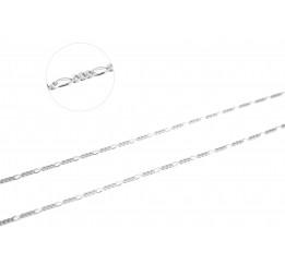 Цепочка серебряная Фигаро (FD70)