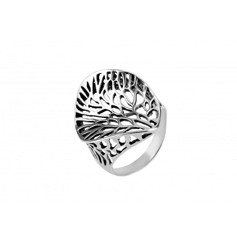 Кольцо серебряное Блюз (11206)