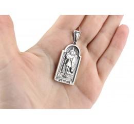 Ладанка серебряная Архангел Михаил (42)