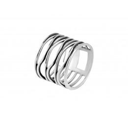 Кольцо серебряное Серпантин (11244)