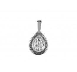 Ладанка серебряная Семистрельная (33018)