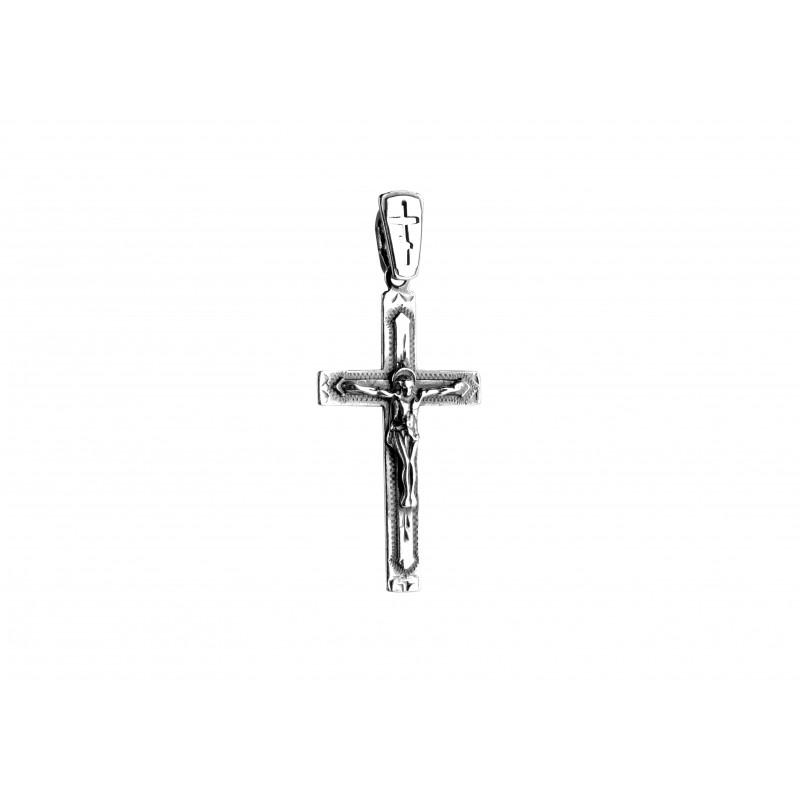 Подвес серебряный Крестик (5179)
