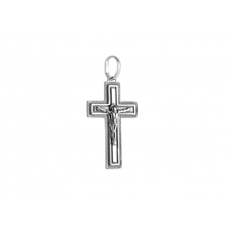 Подвес серебряный Крестик (5180)