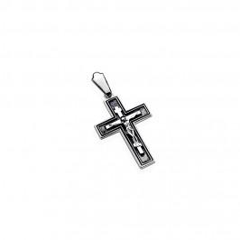 Подвес серебряный Крестик (5198)
