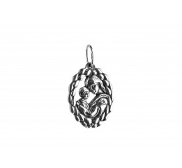 Ладанка серебряная  Божья Матерь (7005)