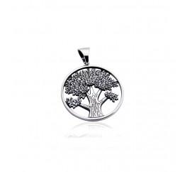 Подвес серебряный Дерево жизни (7234)