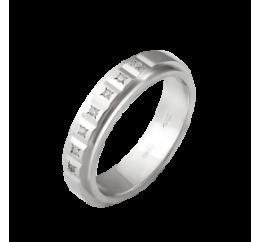 Кольцо серебряное Обручальное 1 (М-1219Ф)