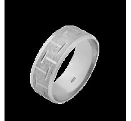 Кольцо серебряное Обручальное 1 (ОС-7002)