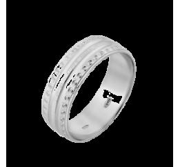 Кольцо серебряное Обручальное 1 (ОС-6529)