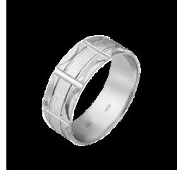 Кольцо серебряное Обручальное 1 (ОС-7025)