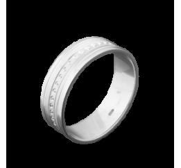 Кольцо серебряное Обручальное 1 (ОС-6501)