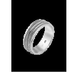 Кольцо серебряное Обручальное 1 (ОС-7024)