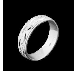 Кольцо серебряное Обручальное 1 (ОС-5503)