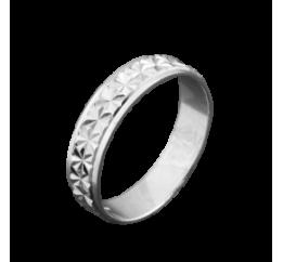 Кольцо серебряное Обручальное 1 (ОС-5012)