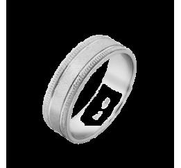 Кольцо серебряное Обручальное 1 (ОС-5505)