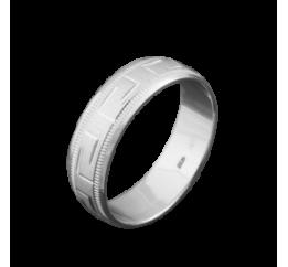 Кольцо серебряное Обручальное 1 ( ОС-6006)