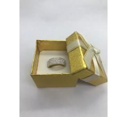 Кольцо с кристалами Сваровски (кс5)