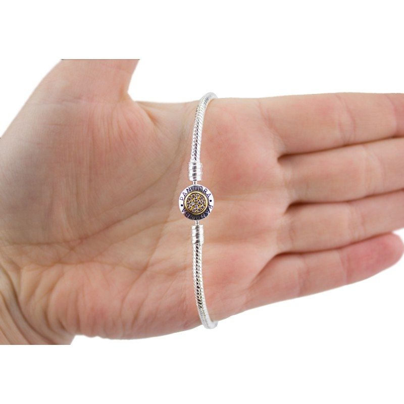 Браслет серебряный Пандора (СН300-Бз)