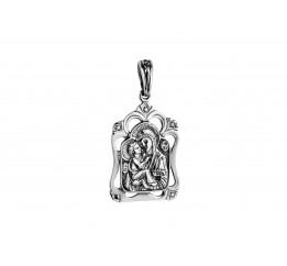 Ладанка серебряная Владимирская Божья Матерь (РП146)