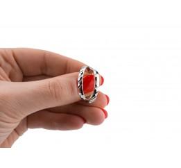 Серьги серебряные Кольца (СРТ20)