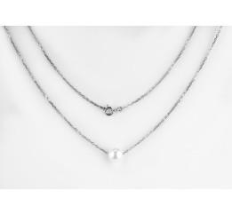 Колье серебряное с жемчугом (0562.10)