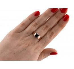 Кольцо серебряное с золотом (0352.10кч)