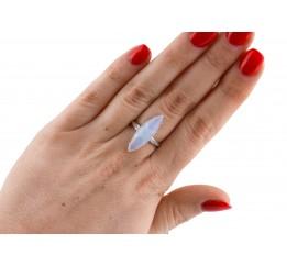 Кольцо серебряное (7280.10к)