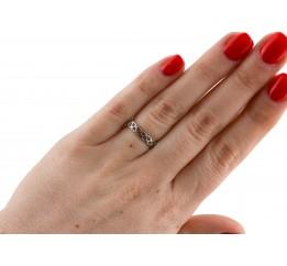 Кольцо серебряное (7268.10к)